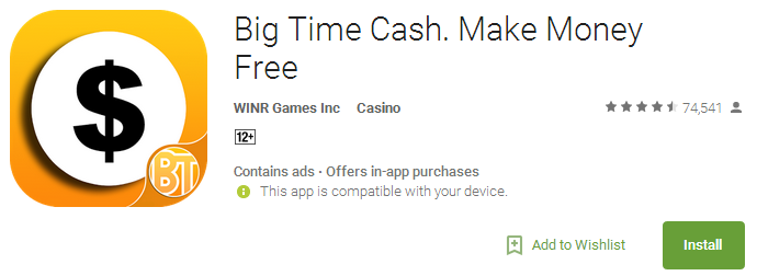 Download Big Time Cash - Make Money Free