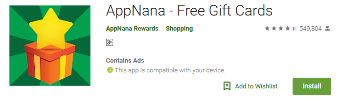 Download Free Gift Card App