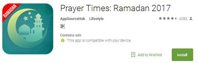 Download Prayer Times Ramadan