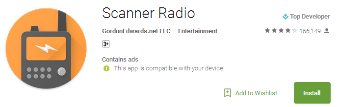 Download Scanner Radio App