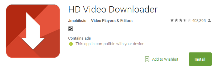HD Video Downloader App