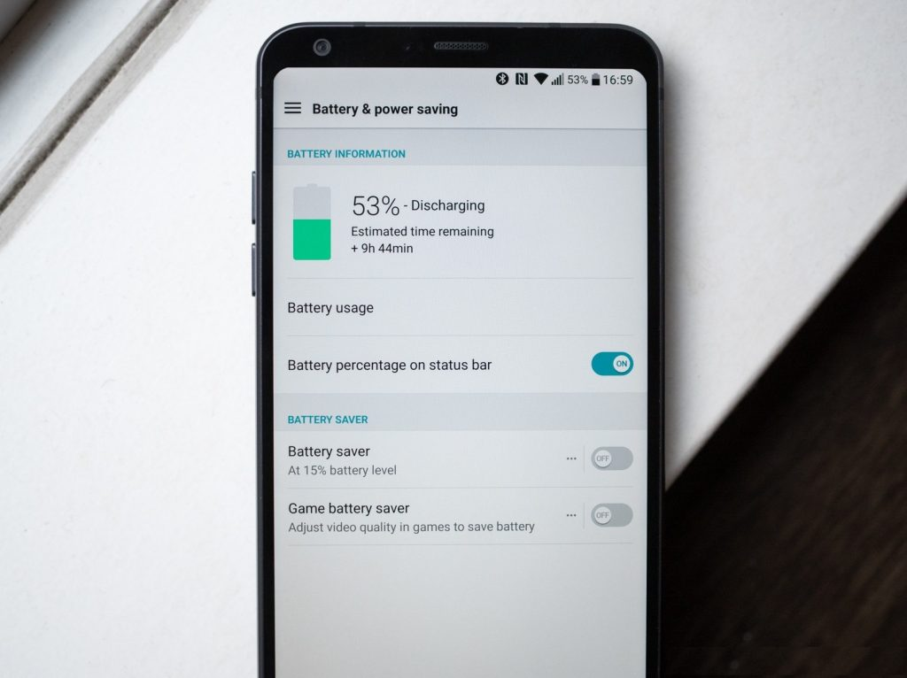 How to save LG G6 battery life