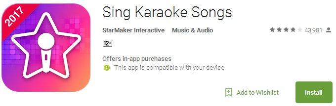 5 best karaoke app for android free download on AndroidPowerHub