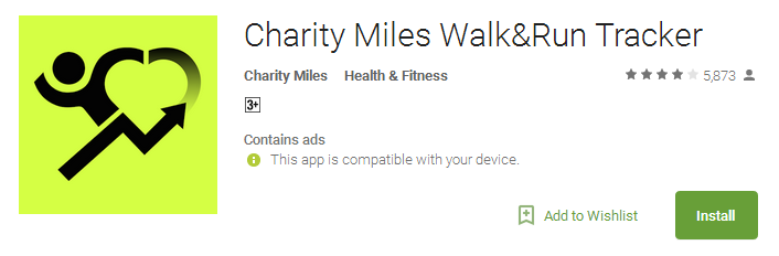 free download Charity Miles App