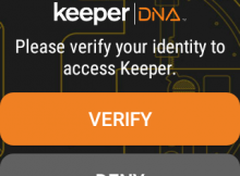 Android Keeper app
