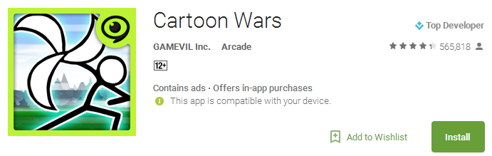 Cartoon Wars App