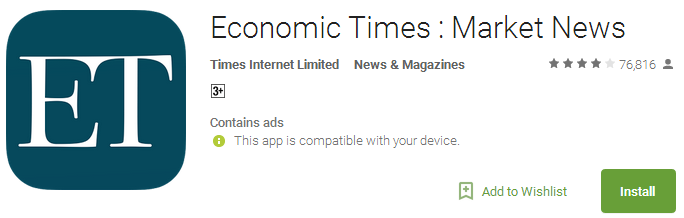 Economic Times - Market News