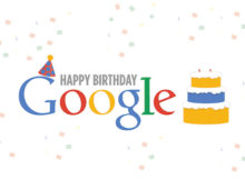 Happy Birthday Googles