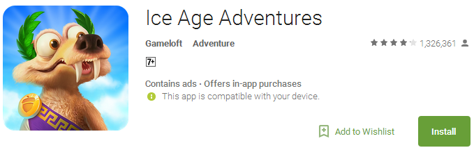 Ice Age Adventures - Free Games with No WiFi
