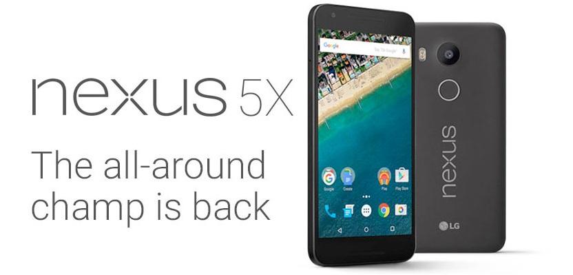 Nexus 5x Smartphone