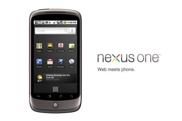 Nexus One Android phone