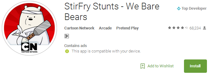 StirFry Stunts - We Bare Bears