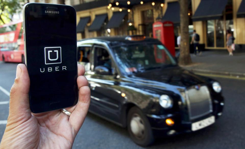 Uber ride service
