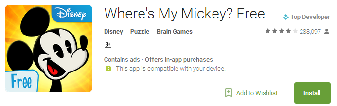 Wheres My Mickey Free.