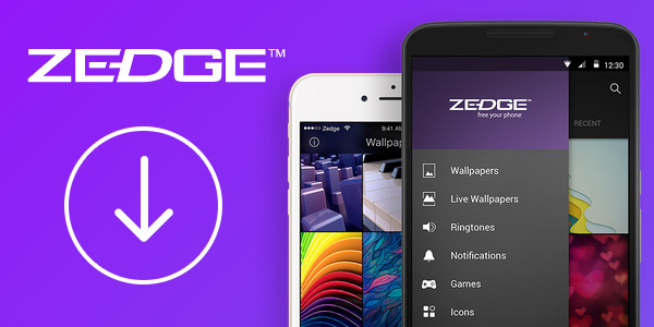 Zedge app for android free download
