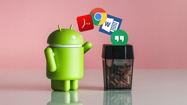 background android apps