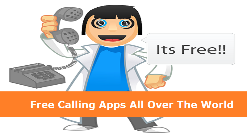 Make Free calls to your loved ones with best free calling apps