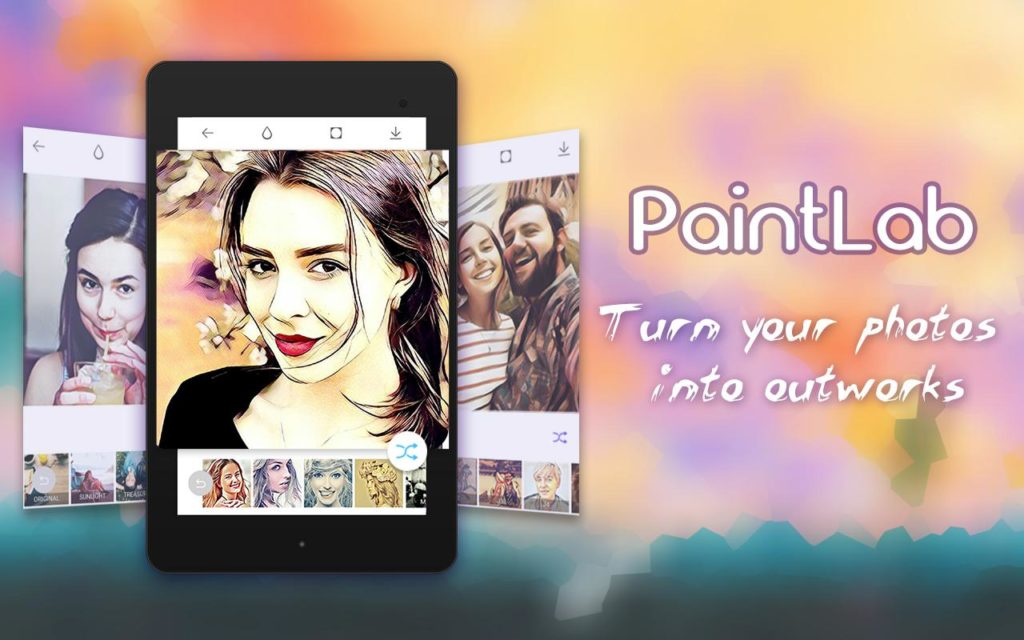 PaintLab - Animated Cartoon App