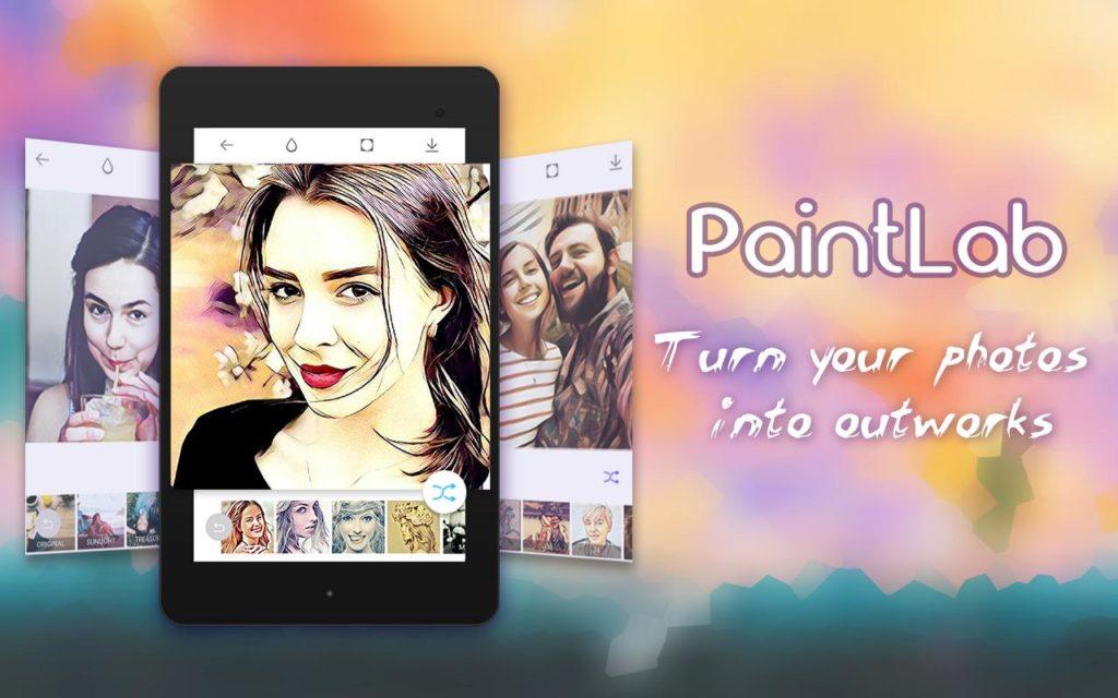 PaintLab - Animated Cartoon App