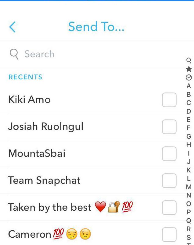 Uploading Snapchat story