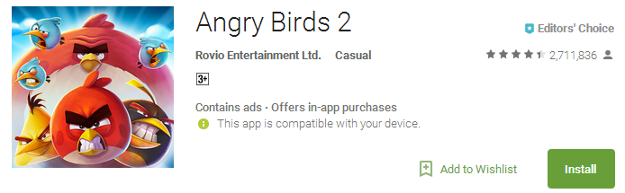 Angry Birds 2 App