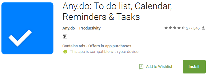 Download Any do App