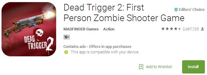 Download Dead Trigger 2