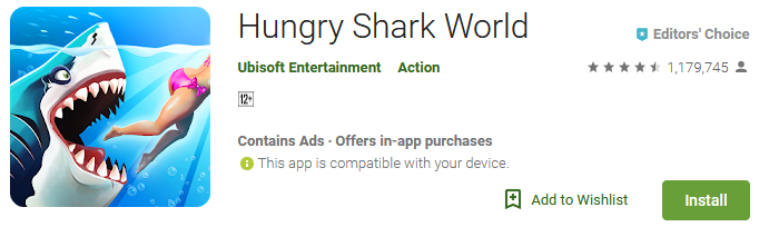 Download Hungry Shark World Game app