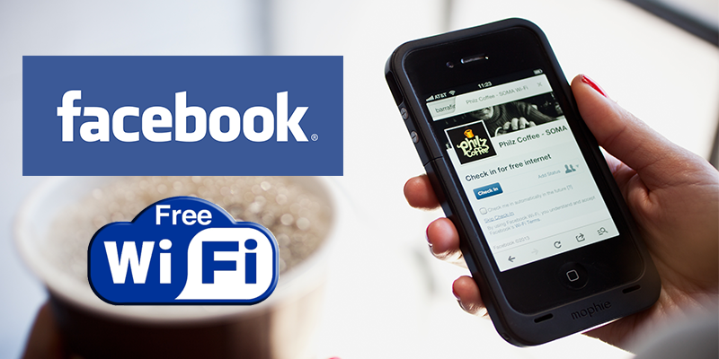 Facebook Wi-Fi Check-in
