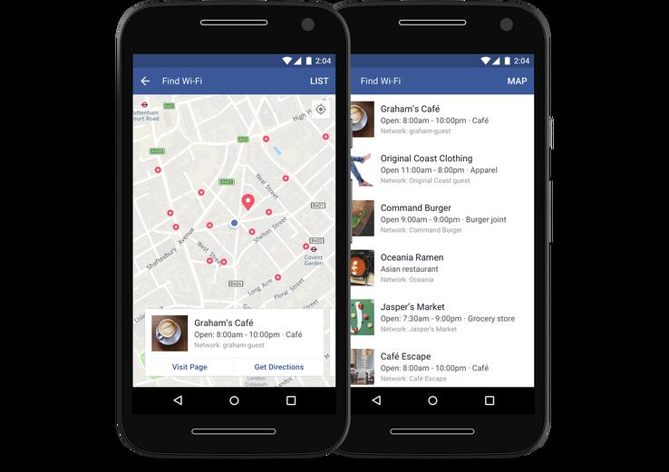 Facebook new Wi-Fi feature