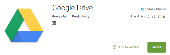 Google Drive for Android