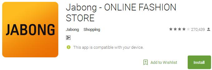 Jabong - ONLINE FASHION STORE