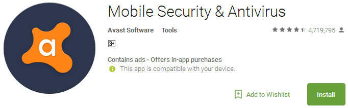 Mobile Security & Antivirus App