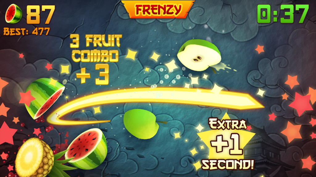 New Fruit Ninja Game app