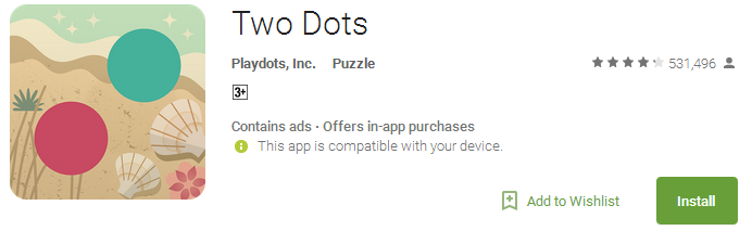Two Dots Puzzle Game
