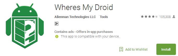 Wheres My Droid App Free Download