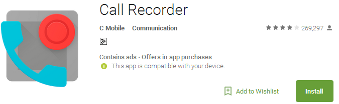 Call Recorder voicemail App