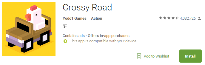 Download Crossy Road