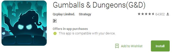 Gumballs & Dungeons(G&D)
