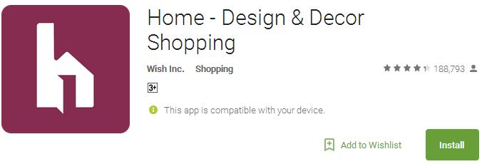 Home - Design & Decor Shopping App