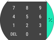 Stock Google Calculator