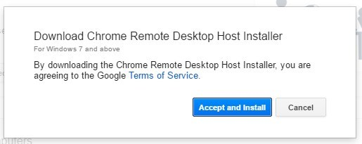 smartphone download chrome remotes desktop