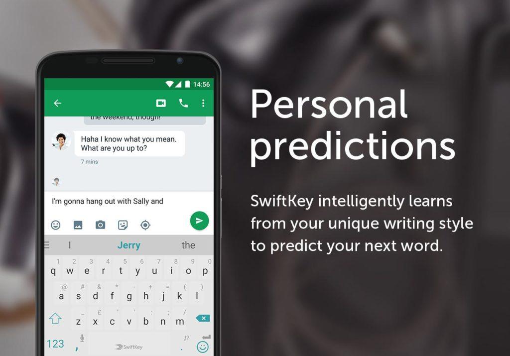 SwiftKey Keyboard for free