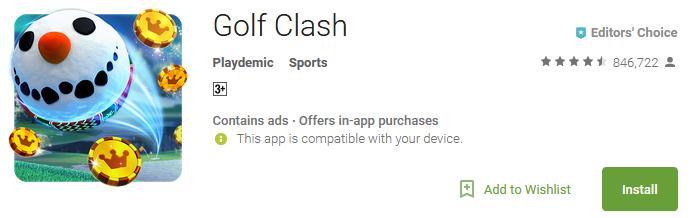 Golf Clash Game Online Download