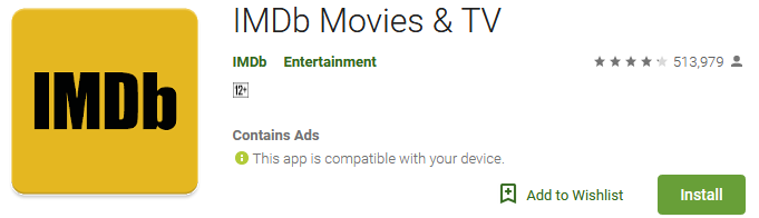 Download IMDb Movies & TV App