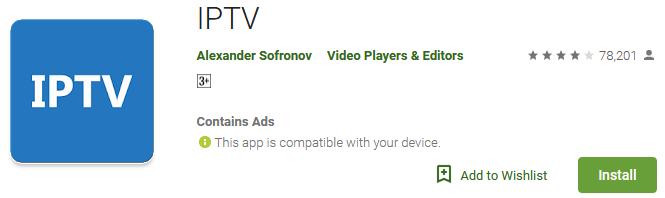 Download IPTV App