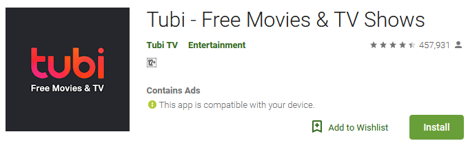Download Tubi - Free Movies & TV Shows