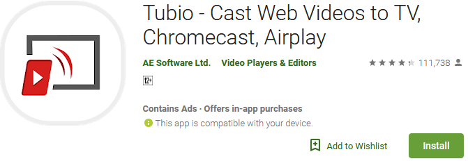 Download Tubio Tv App