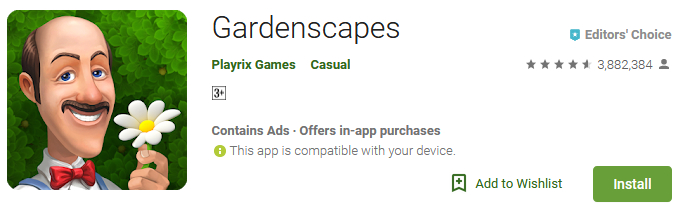 Free Download Gardenscapes Game