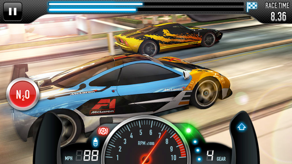 csr racing 2 play online